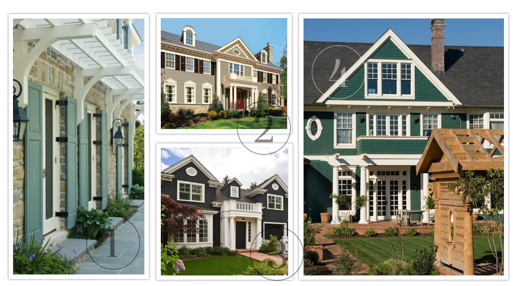 29 examples of exterior paint colors for your home paint for Exterior paint examples