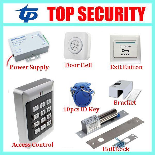 Standalone Proximity Rfid Card Accress Controller 125khz Id Card Reader Diy Single Door Keypad Em Card Access Contro Access Control Access Control System Power