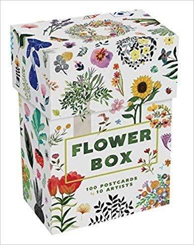 Flower Box 100 Postcards By 10 Artists Princeton Architectural Press 9781616896713 Amazon Com Books Postcard Boxes Botanical Artwork Flower Boxes