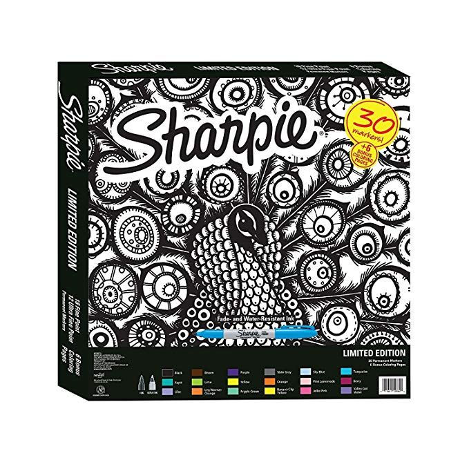 Sharpie Special Edition 30 Count Marker Set Amazon.co.uk