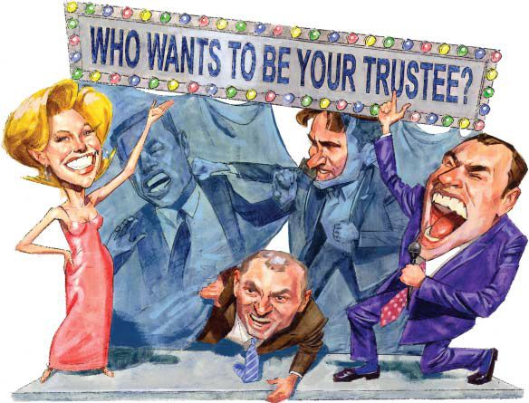 Some great considerations when choosing your trustee. http://www.americanbar.org/content/dam/aba/publications/probate_property_magazine/v17/04/2003_aba_rpte_pp_v17_4_jul_aug_akers.authcheckdam.pdf  #estateplanning #trustee
