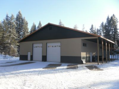MAC Structures, Inc. - A Leading provider of Structures, Shops, Garages, Pole, Warehouses, Agricultural, Residential and Commercial Buildings - Serving Idaho, Washington and Montana