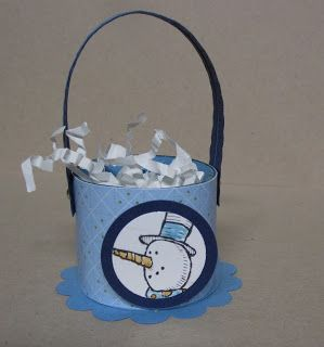 Krafting with Karen: Snowman Treat Cup
