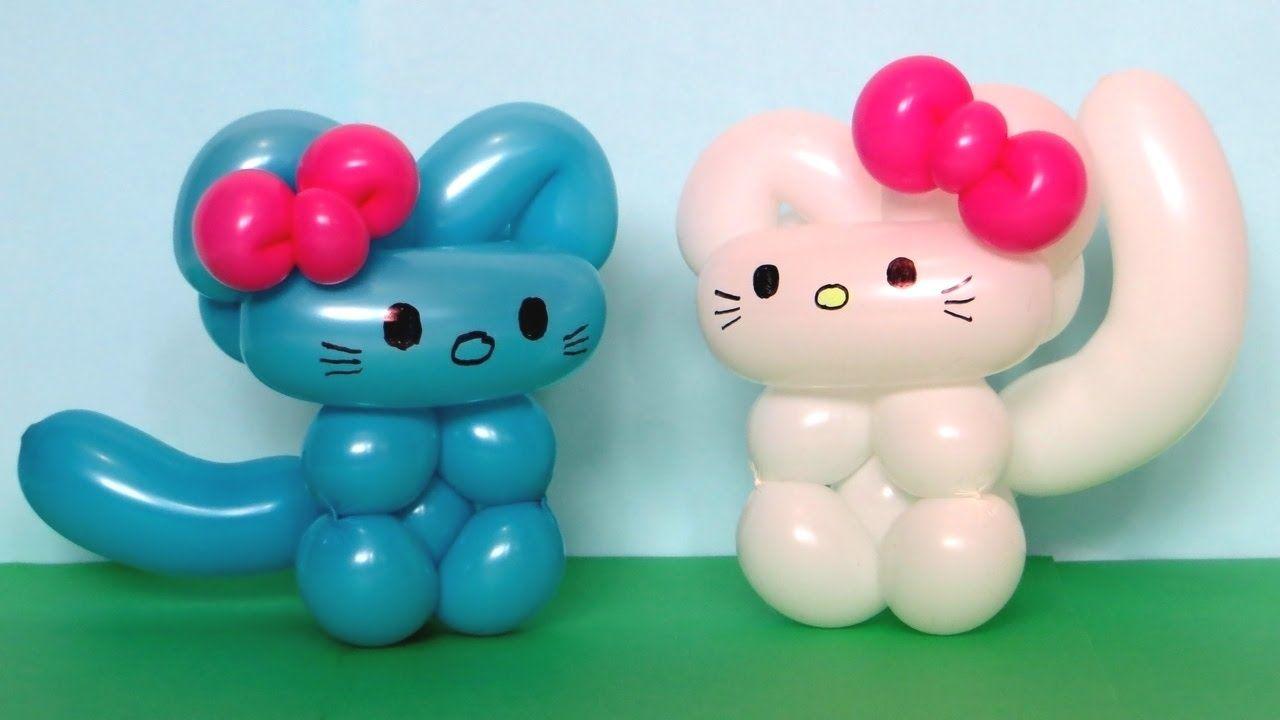 Китти из шарика / One balloon Kitty