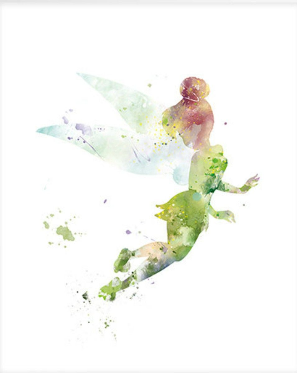 Tinkerbell Watercolor Tinkerbell