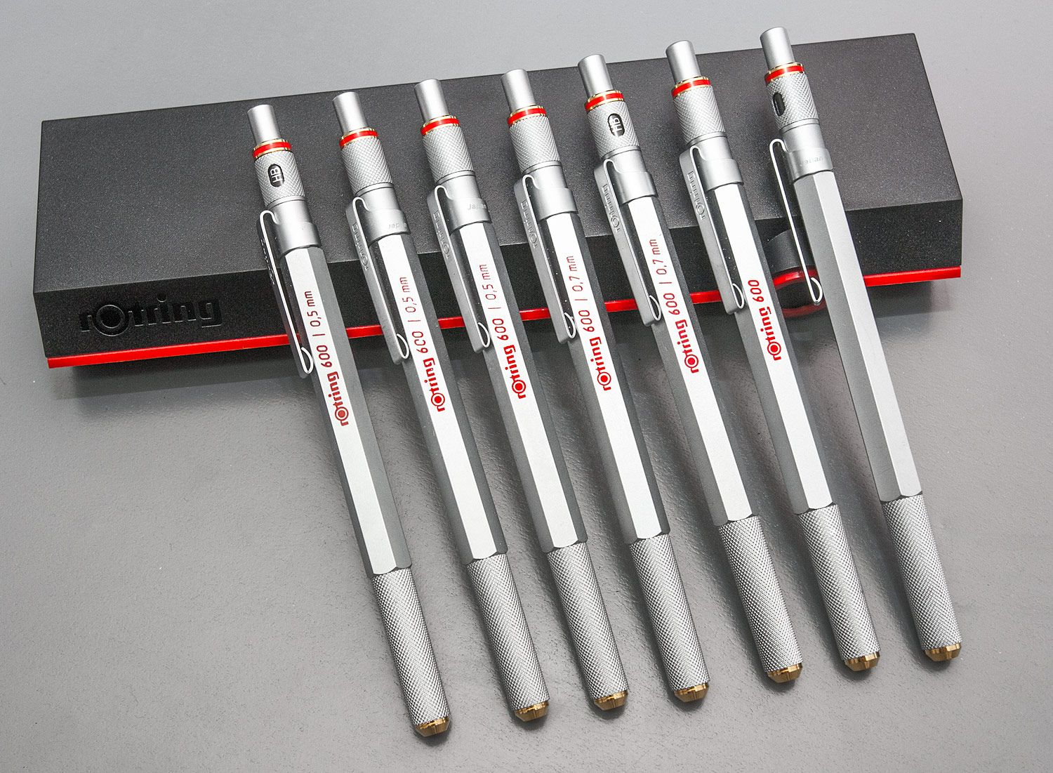 Rotring 600g Vs 800 Drafting And Mechanical Pencils