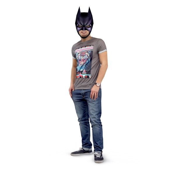 Batman Mask from paper. Download DIY 3D Batman mask template: http://maskhunters.com/masks/batman-mask-template/