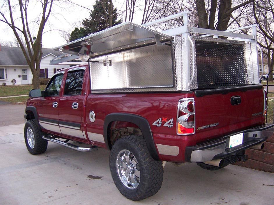 Ultimate Truck Tool Box Setup Utility Truck Beds Truck Bed Tool