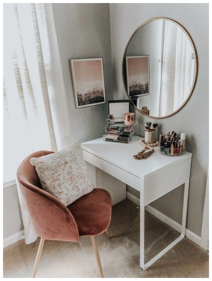 Photo of 53 best makeup vanities & cases for stylish bedrooms #roomideas #makeupvaniti …