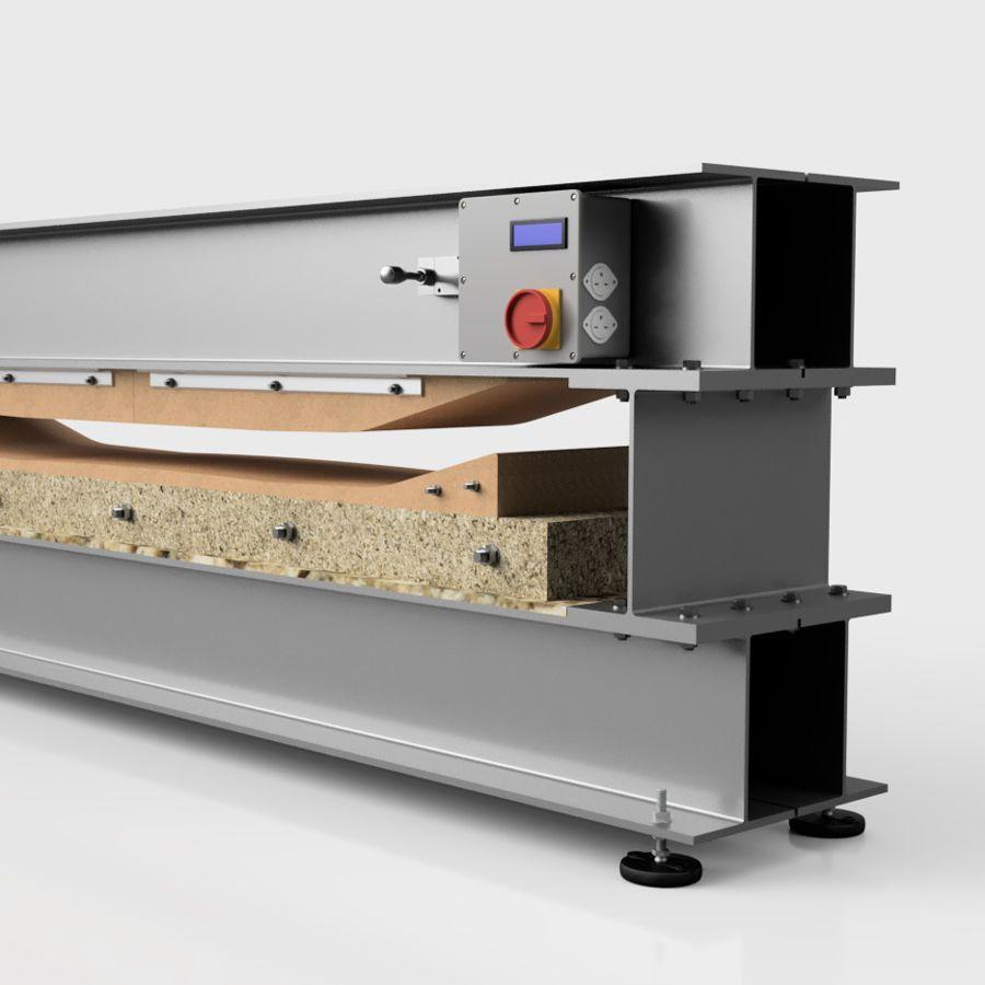 Industrial Design Snowboard Press 3d Model Snowboard Design Engineering Design
