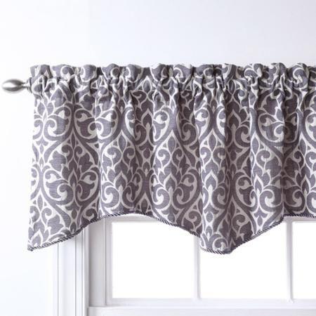 Home Gray Valance Valance Valance Curtains