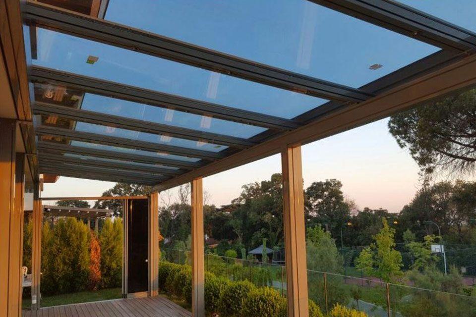 Acoperis Geam Tavan Fix Pergola Glass Roof Covered Pergola