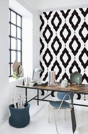 100 лучших идей дизайна: трафареты для покраски стен на ...