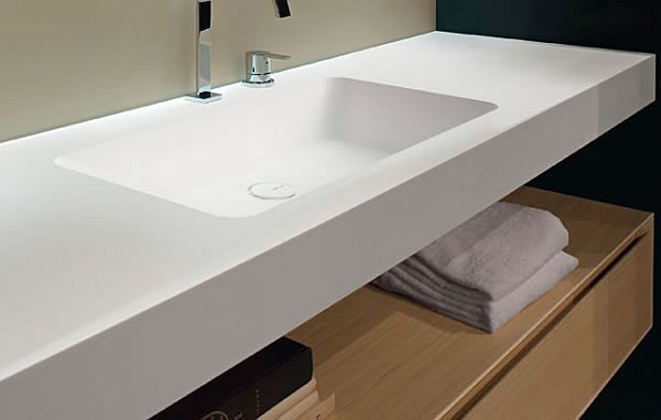 The Arco Countertop is a new bath vanity design by designer Antonio Lupi  that aims at simplifying the bathroom design instead of adding unnecessary  busy ...