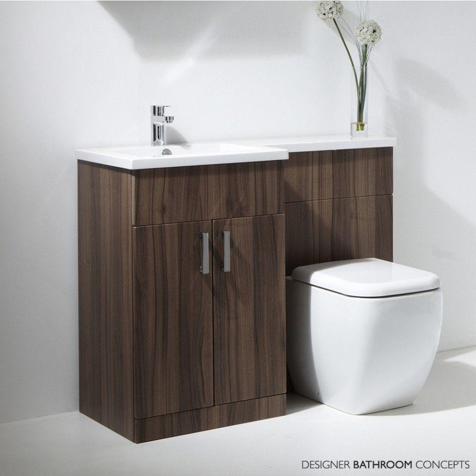 Tecaz bathroom suites - Aquatrend Petite Freestanding Cloakroom Suite Main Image