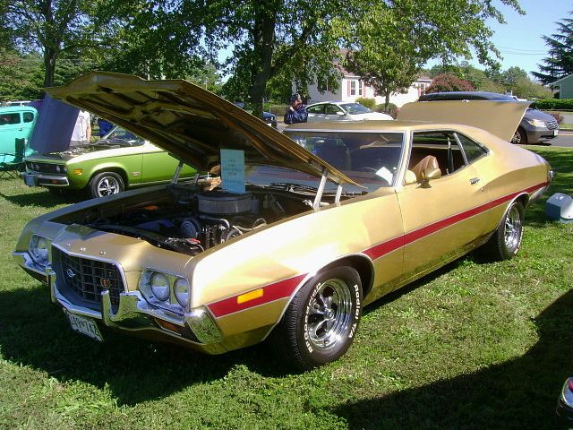 1972 Ford Gran Torino Sport Ford Classic Cars Vintage Muscle Cars Ford Torino