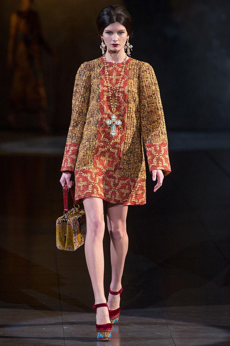 d4315a9a Dolce Gabbana Fall 2013 RTW | The Year in Fashion 2013 | Fashion ...