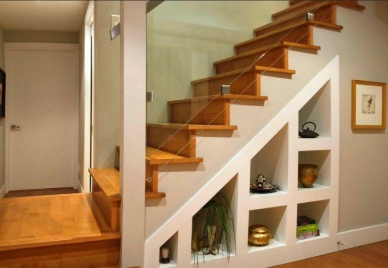 48 Easy DIY Ways To Finish Your Basement Stairs Basement Decor Interesting Basement Stairs Finishing Ideas Decor
