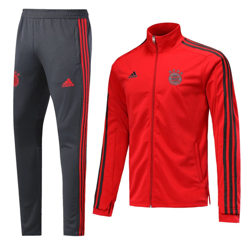 BAYERN MUNCHEN 2019 RED MEN JACKET TRACKSUIT SLIM FIT