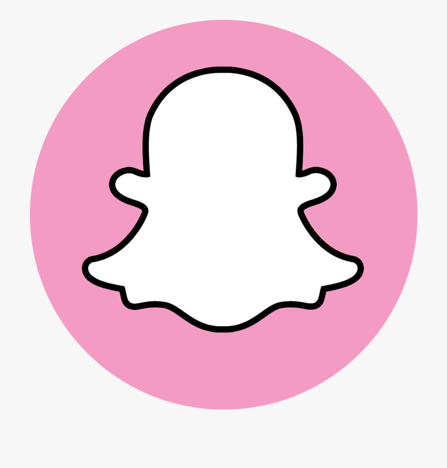 Pink Snapchat Logo Png in 2020 Iphone achtergrond