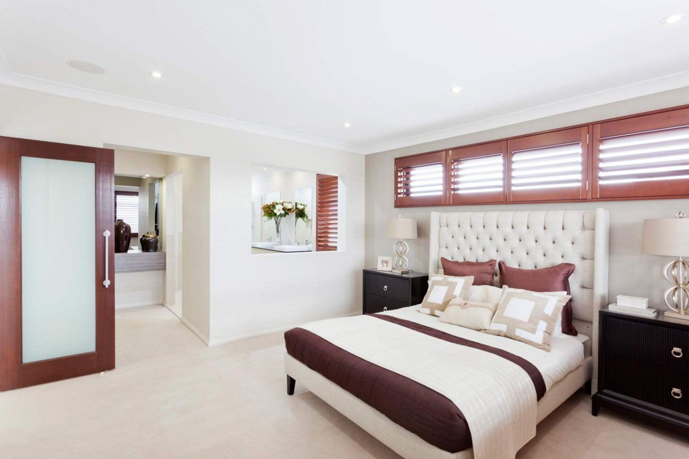 The Master Bedroom From The Huntingdale Design By McDonald Jones Homes.  Exclusive To Canberra.
