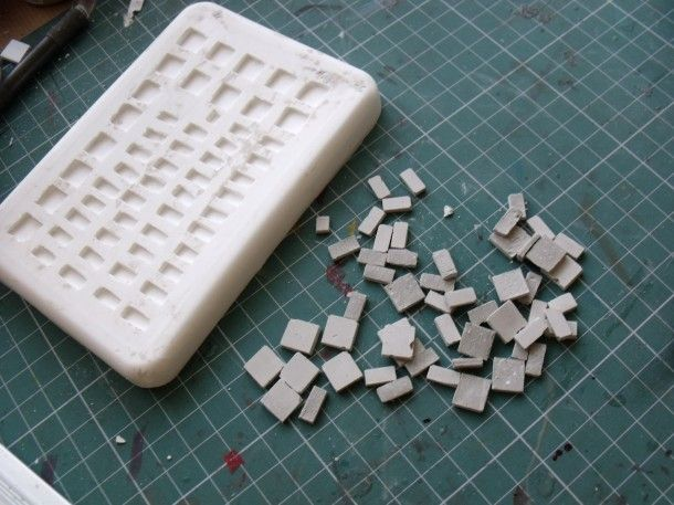 Make Your Own Mold For Bricks Because You Never Know When