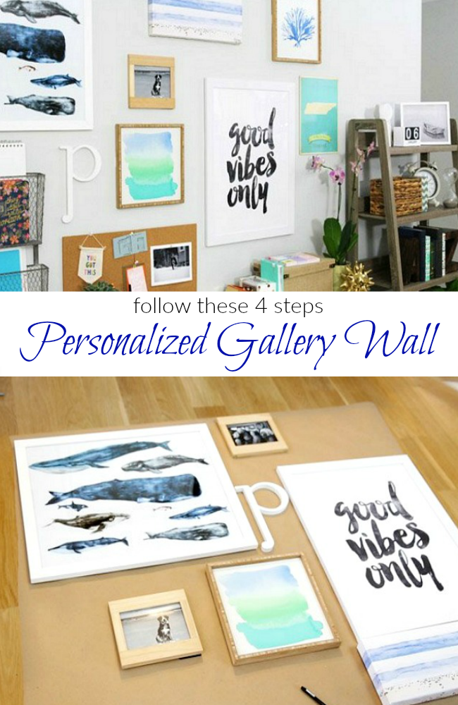 Follow These 4 Steps For A Personalized Gallery Wall
