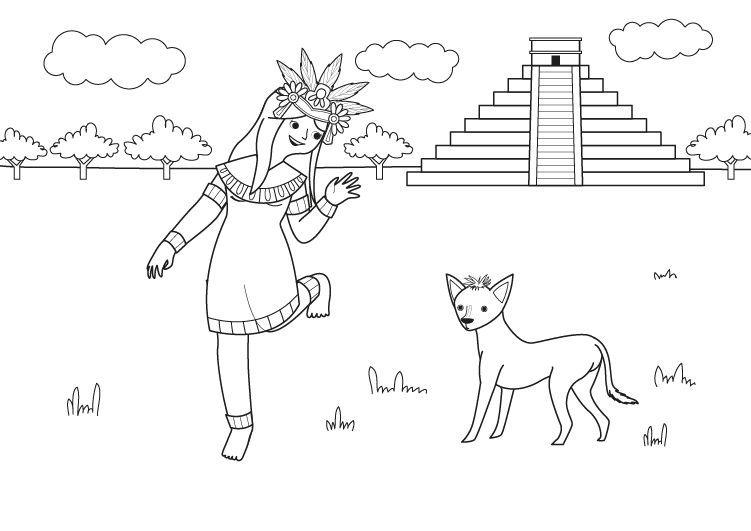 6 Cuentos Mexicanos Para Leer En Espanol Y En Su Lengua Originaria Mas De Mexico Aztecas Dibujos Camino A La Escuela Aztecas