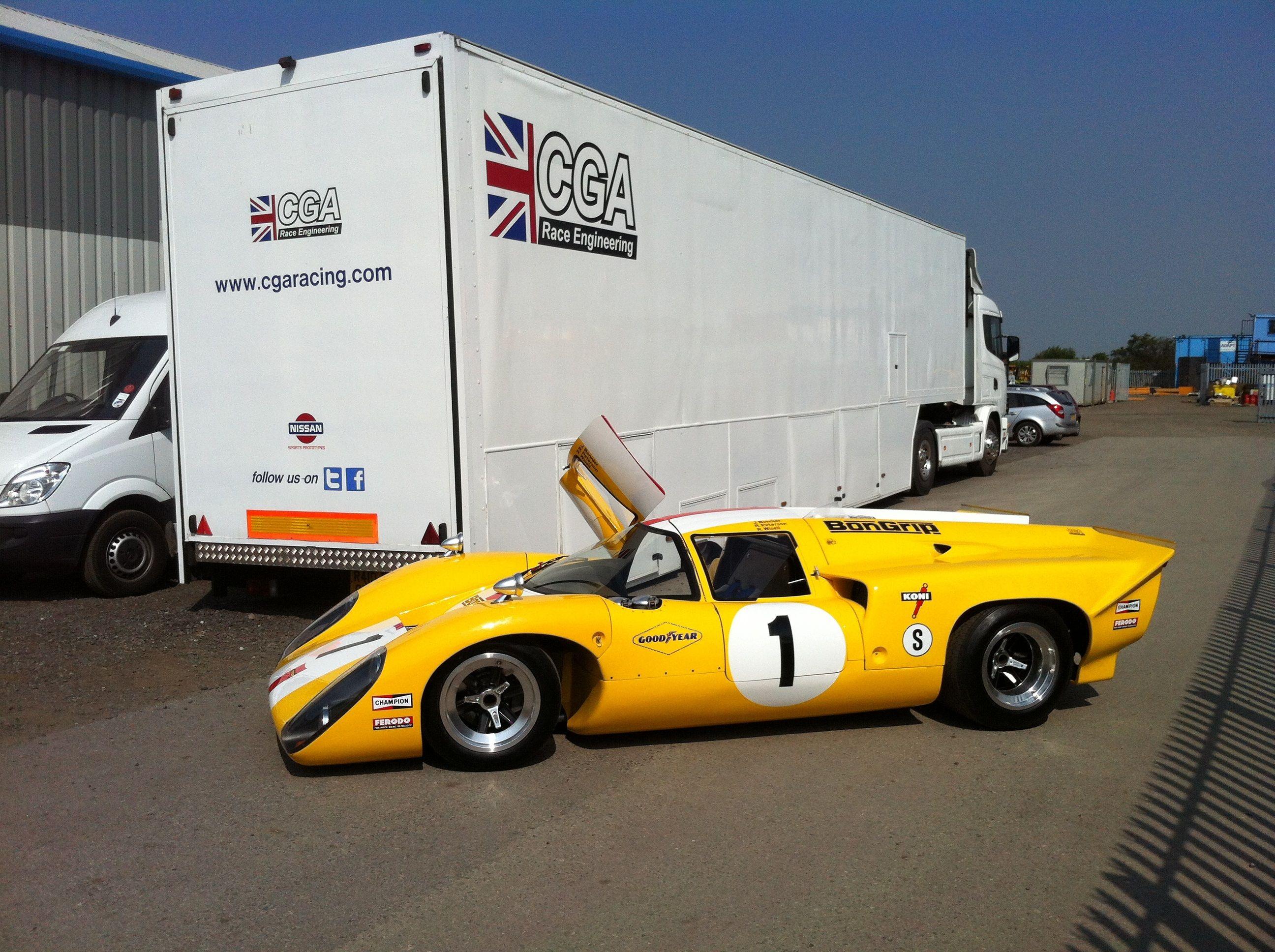 CGA Race Engineering prepaired Lola T70 Mk3B | Racing Machines ...