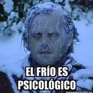 El Frio Es Psicologico Frases De Frio Engracadas Muito Engracado Memes