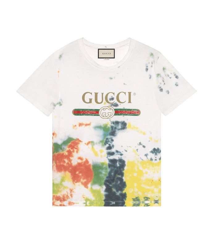3a0a02440878 Shop Gucci Resort 2017 at ShopBAZAAR   Casual in 2019   Dye t shirt ...