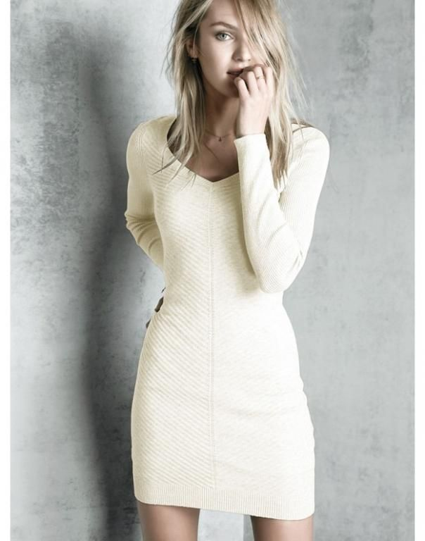Lekka Dzianinowa Sukienka Victoria S Secret S 36 5223744667 Oficjalne Archiwum Allegro Fashion Dresses Super Cute Dresses
