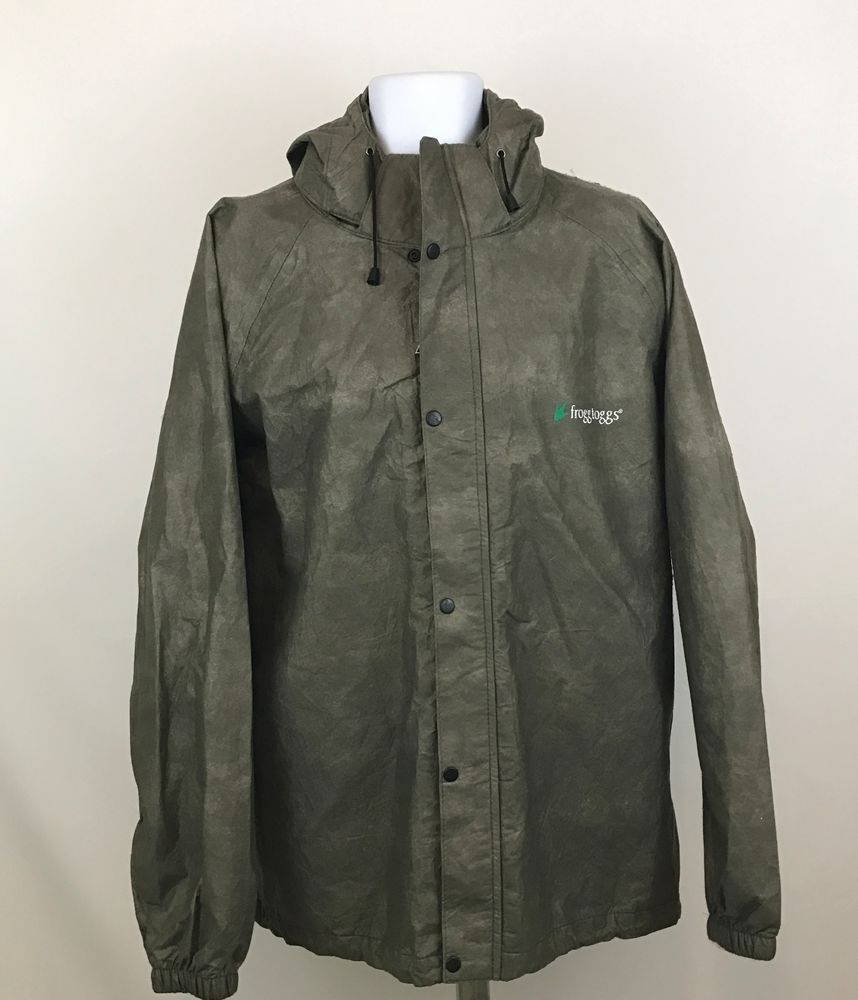 Fedex Coat Uniform Hooded Jacket Reflective Rain All Weather