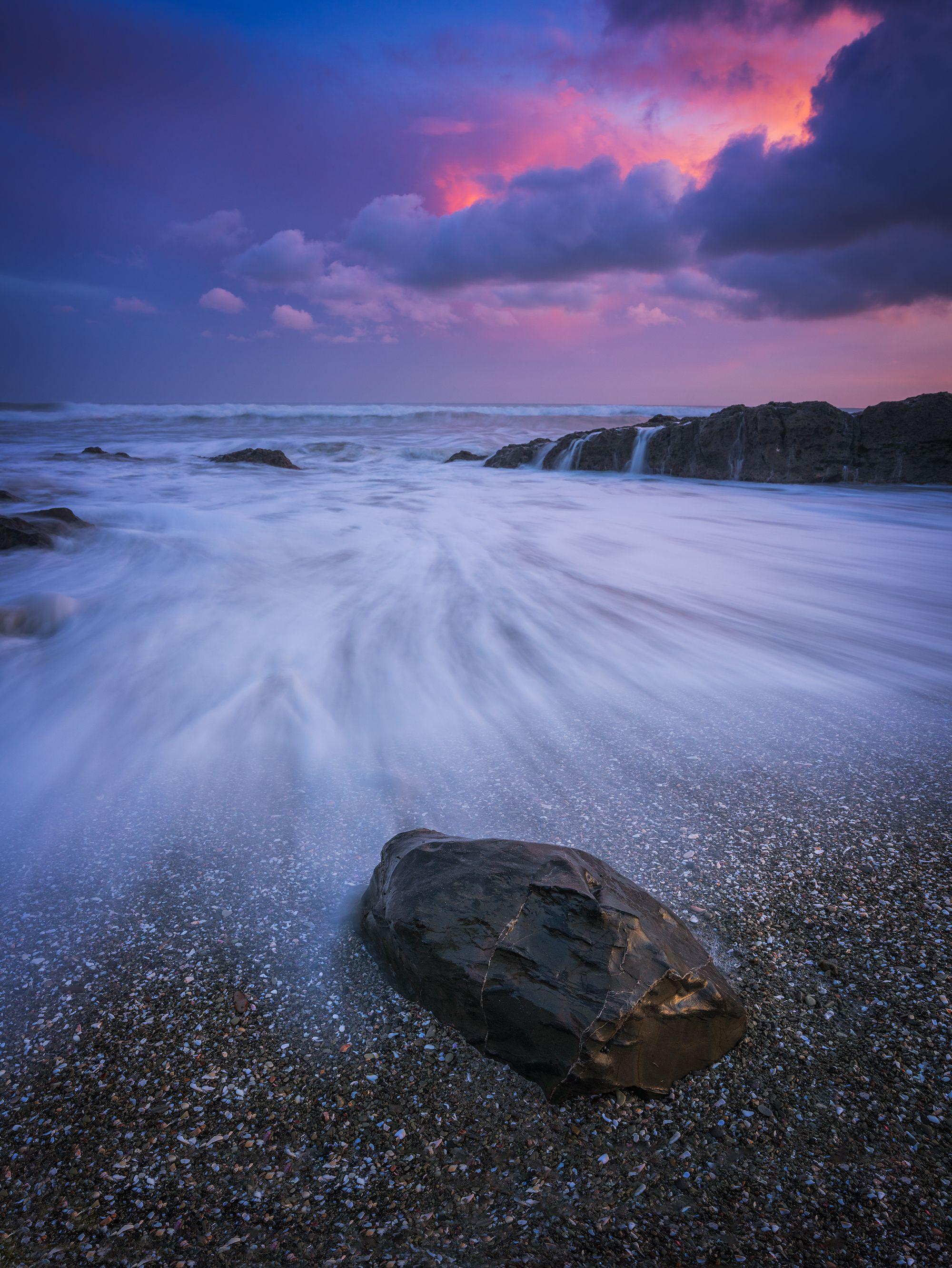 Colors In The Sky During Sunset  Santa Teresa Costa