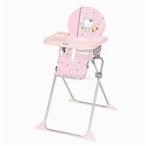 Hello Kitty Chaise Haute Extra Pliante Junior Fleur Rose Hello Kitty Baby Shower Hello Kitty Baby New Baby Products