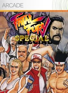 Fatal Fury Special Fury Comic Book Cover Special