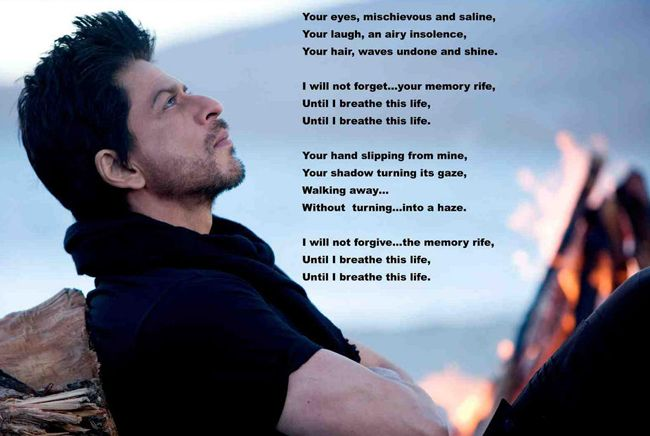 Shah Rukh Khan turns poet, translates Jab Tak Hai Jaan poem - Hindustan Times