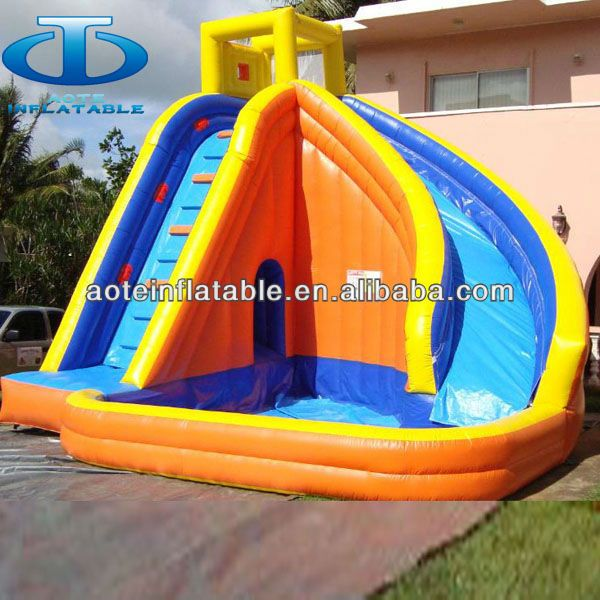 Inflatable Slide Commercial: 2013 Used Commercial Water Slides For Sale,inflatable
