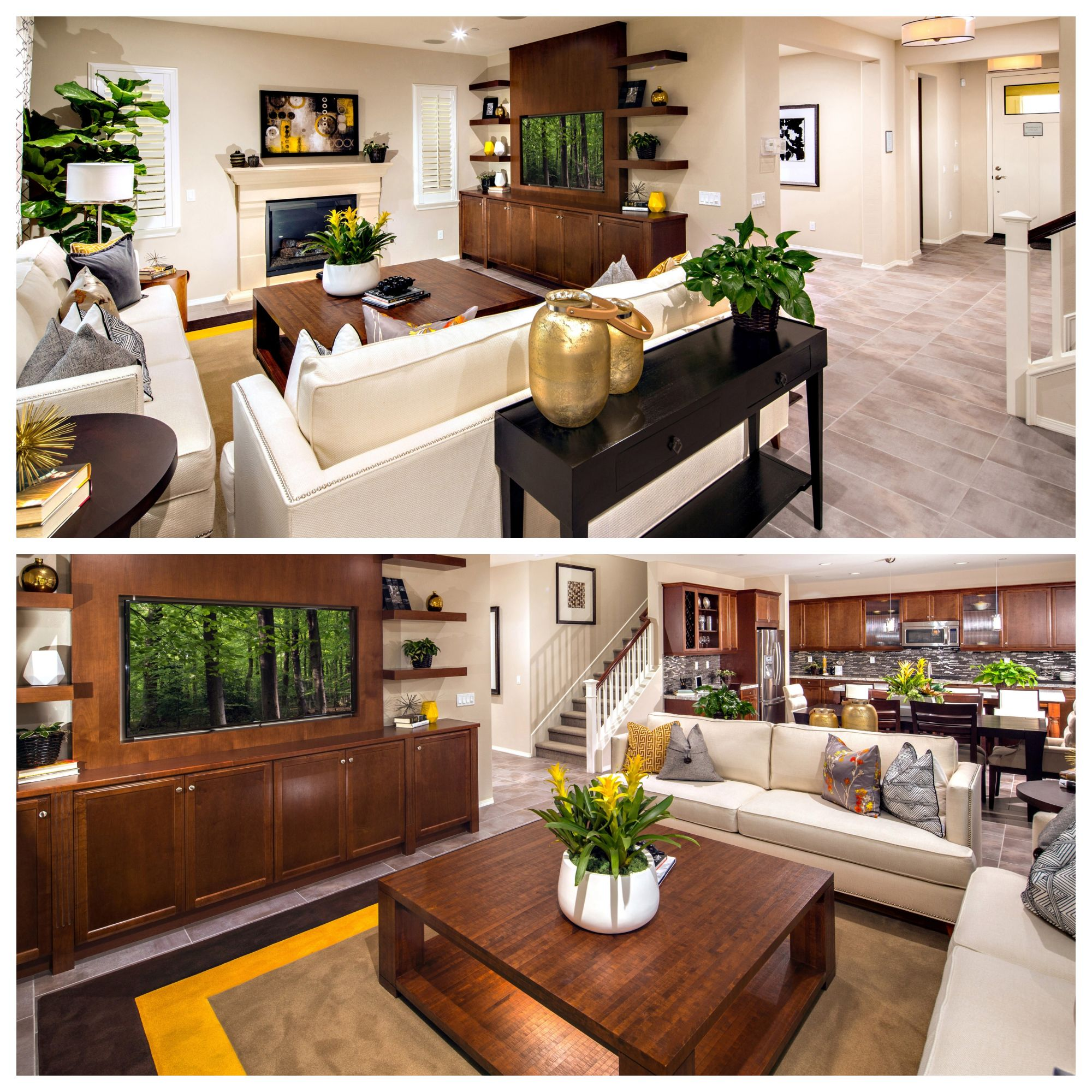 Great Home Design Ideas: Same Great Room, Different VIEWS! Is This One You Would
