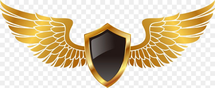 Free Download Vector Hand Painted Gold Wings Png Image Iccpic Iccpic Com