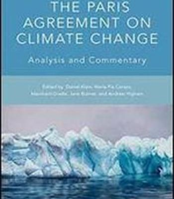 The Paris Agreement On Climate Change Analysis And Commentary PDF