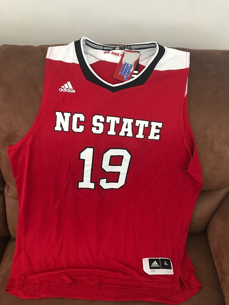 Details about Adidas NC State Ncaa Basketball Jersey NWT