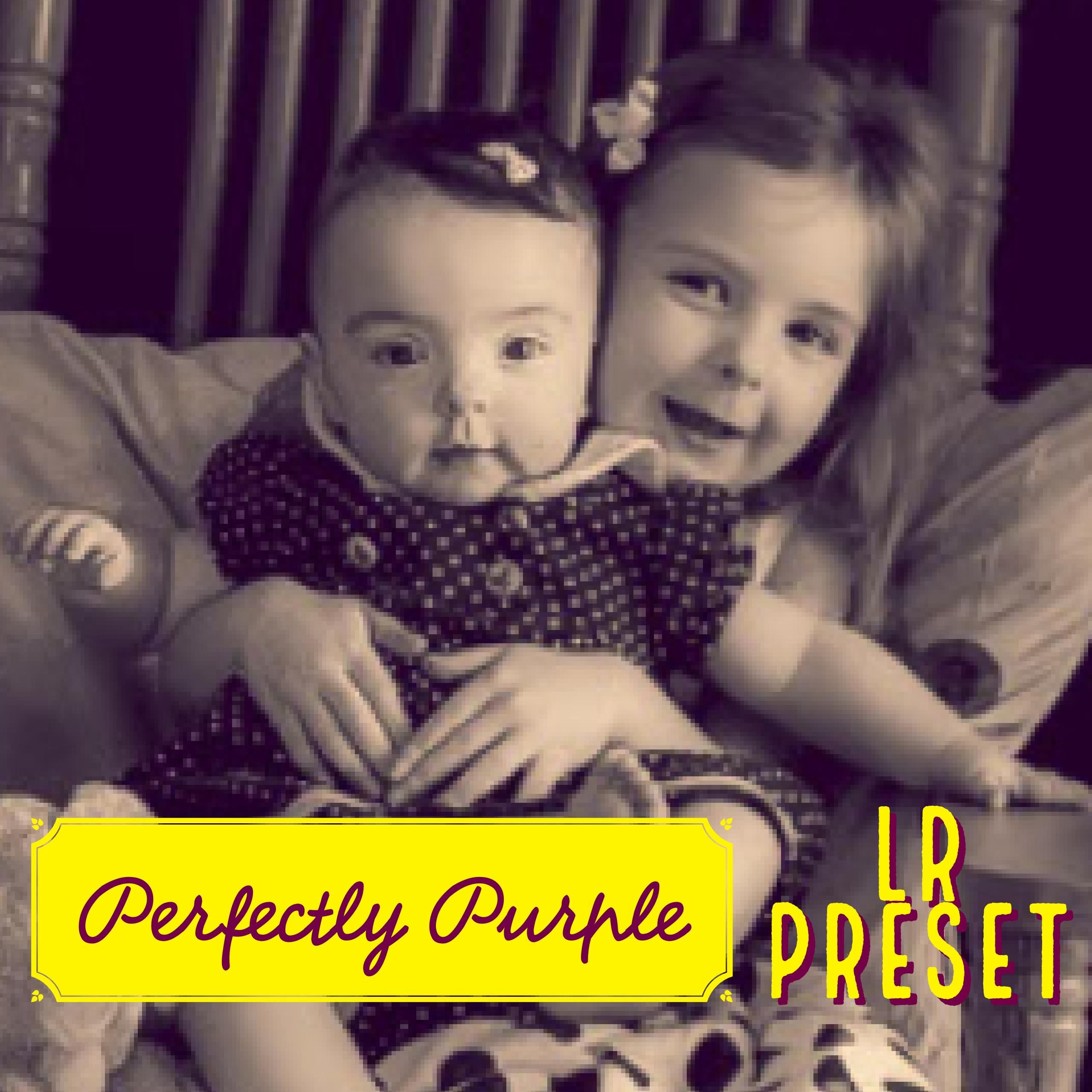 Perfectly Purple - Premium Lightroom Preset - Desaturated Photography Preset - Instant Download -Portrait Preset - Child Portrait - Purple by PerfectlyPreset on Etsy