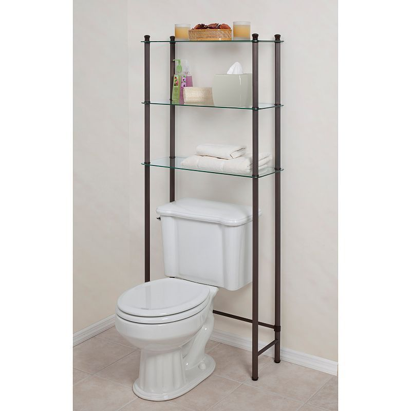 Creative Ware Home 3 Shelf Space Saver Multicolor Toilet Storage Creative Bath Space Savers