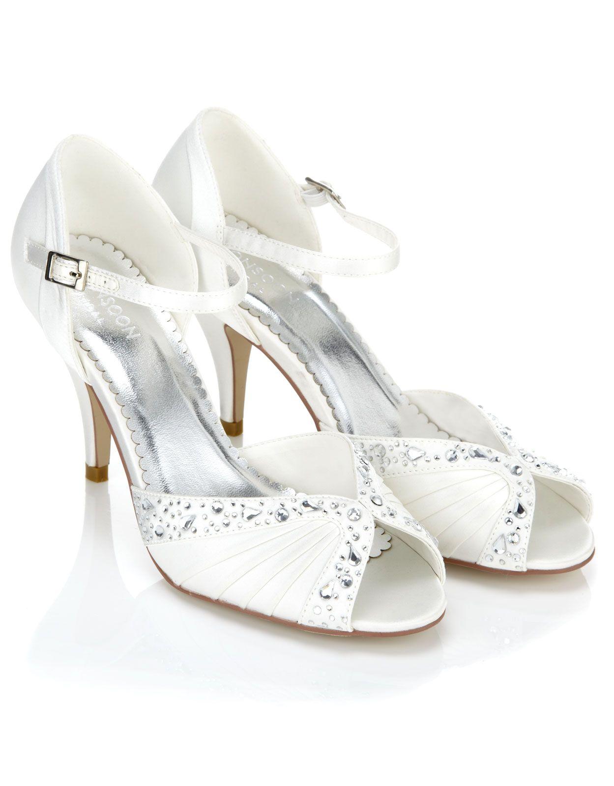 Evelyn Diamante Bridal Shoe
