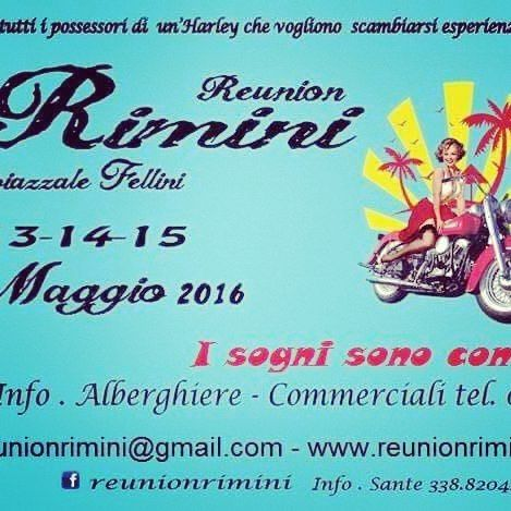 Reunion 13.14.15 maggio 2016#Rimini#Harley Davidson#cafe racer#House of Rock#Progetto Fede#I Parrucchieri del Borgo#Black Ray by edoardo_d.s