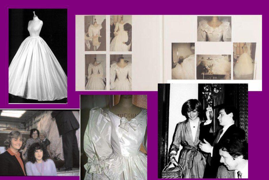 1981--Image - La confection de la robe de mariée dans le secret _& _ Souvenir - Blog sur Lady Diana , William , Catherine , George... - Skyrock.com
