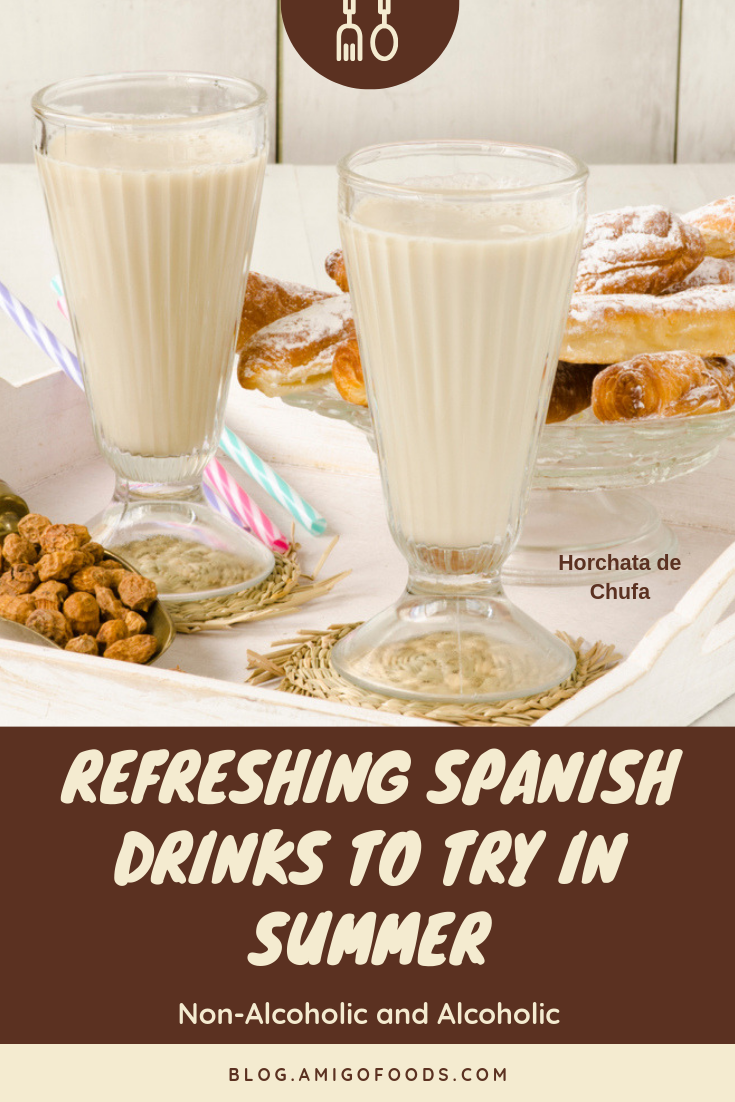 Refreshing Spanish Drinks To Try In Summer Non Alcoholic And Alcoholic Spanish Dessert Recipes Food Best Spanish Food