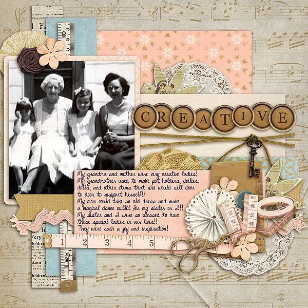 I used Shabby Papers and Shabby Elements from Sandy Pie they can be found here: http://store.gingerscraps.net/Shabby-Elements-by-SandyPie-Creations.html and here: http://store.gingerscraps.net/Shabby-Papers-by-SandyPie-Creations.html I also used a and template from Connie Prince Feels Like Home collection found here: http://store.gingerscraps.net/Feels-Like-Home-12x12-Temps-CU-Ok.html and an alphabet from her 30 Thankful days kit found here…
