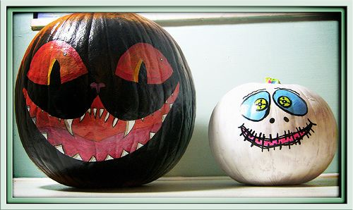 Our Painted Pumpkins Holidays, Halloween ideas and Pumpkin ideas - halloween pumpkin painting ideas